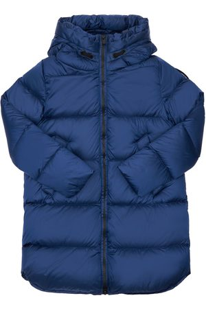 Bomboogie Girls Jackets - Hooded Nylon Down Coat