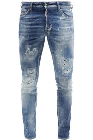 Dsquared2 Cool Guy Distressed Skinny Jeans - Mens