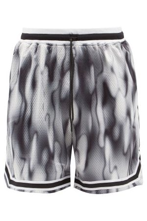 JOHN ELLIOTT Game Abstract-print Shorts - Mens