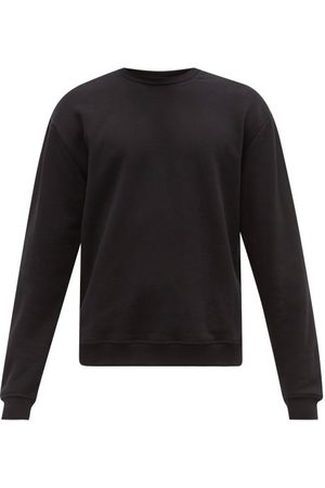 JOHN ELLIOTT Men Sports Hoodies - Oversized Loopback Cotton-jersey Sweatshirt - Mens