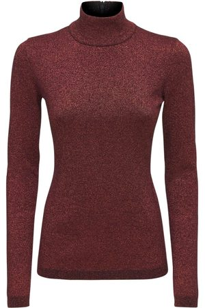 Stella McCartney Viscose Blend Knit Turtleneck Top