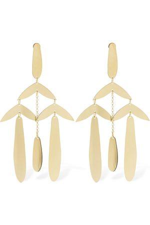 Isabel Marant Women Earrings - Multi-leaf Pendant Earrings