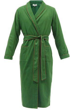 P. Le Moult Piped Cotton Robe - Mens