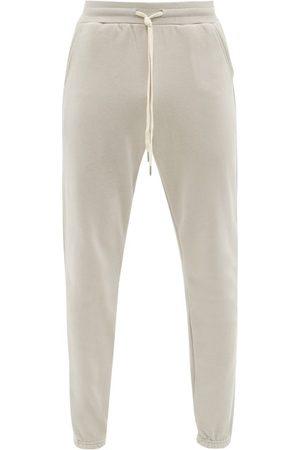 JOHN ELLIOTT La Cotton-jersey Track Pants - Mens - Grey