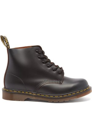 Dr. Martens Men Ankle Boots - 101 Lace-up Leather Ankle Boots - Mens