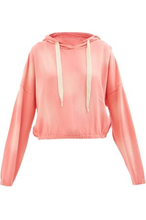 The Upside Moonstone Amelie Cotton-jersey Hooded Sweatshirt - Womens