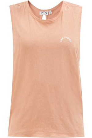 The Upside Ava Twisted Cotton-blend Tank Top - Womens