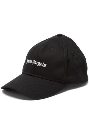 Palm Angels Logo-embroidered Cotton-twill Cap - Mens