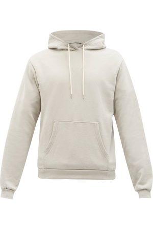 JOHN ELLIOTT Beach Cotton-jersey Hooded Sweatshirt - Mens - Grey
