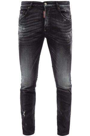 Dsquared2 Men Skinny - Super Twinky Distressed Skinny Jeans - Mens