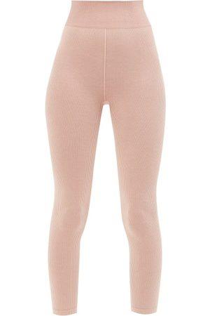 The Upside Circular-knit Ribbed Leggings - Womens