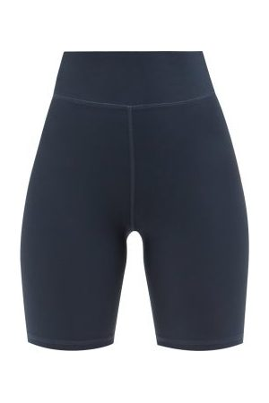 The Upside High-rise Cycling Shorts - Womens - Navy