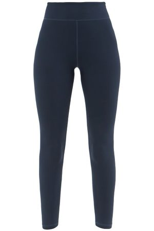 The Upside High-rise Cropped Leggings - Womens - Navy