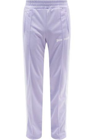 Palm Angels Logo-print Stripe Jersey Track Pants - Mens