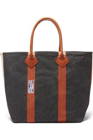 Haulier Men Luggage - Utility Medium Striped Canvas Tote Bag - Mens