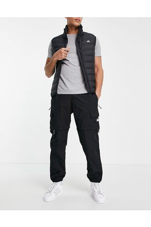 adidas 2 in 1 utility pants in