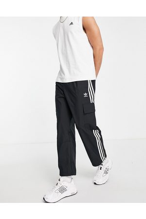adidas 3 stripes cargo pants in