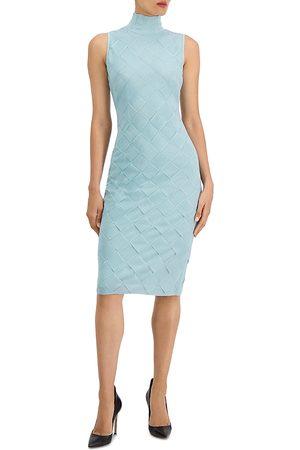 Hervé Léger Textured Weave Bandage Dress