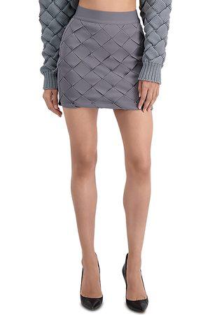 Herve Leger Bandage Weave Mini Skirt