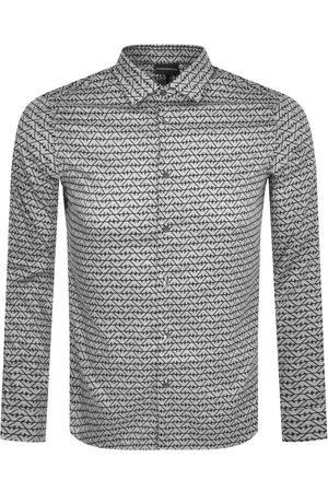 Armani Men Long sleeves - Emporio Logo Long Sleeve Shirt