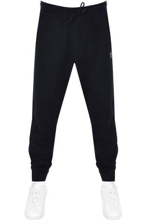 HUGO BOSS Men Sports Pants - BOSS Sestart 1 Jogging Bottoms Navy