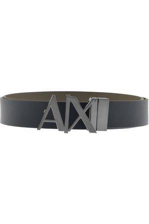 Armani Reversible Belt Navy
