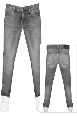 G-Star Men Skinny - Raw Revend Skinny Jeans Grey