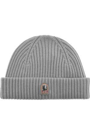 Parajumpers Ribbed Beanie Hat Grey