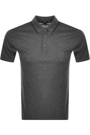 HUGO BOSS BOSS Phillipson 97 Polo T Shirt Grey