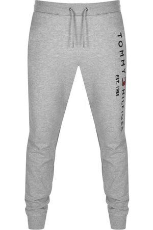 Tommy Hilfiger Men Sports Pants - Logo Jogging Bottoms Grey
