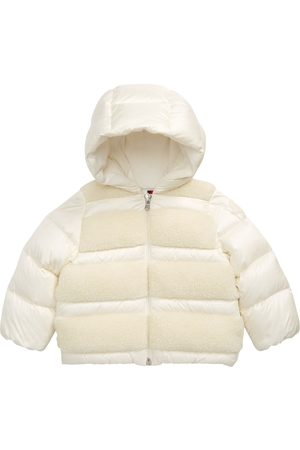 Moncler Infant Girl's Gentiane Faux Shearling Hooded Down Jacket