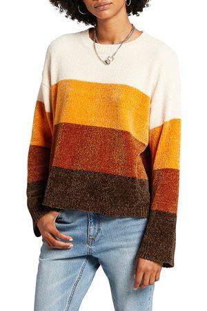 Volcom Women's Bubble Tea Chenille Sweater