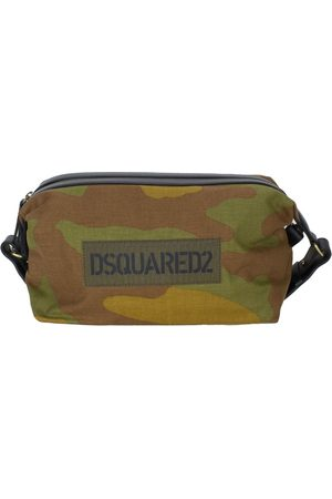 Dsquared2 Camouflage-Print Messenger Bag