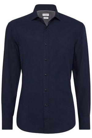 Brunello Cucinelli Men Long sleeves - Slim fit shirt