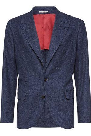 Brunello Cucinelli Men Blazers - Deconstructed blazer