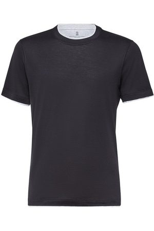 Brunello Cucinelli Men Short Sleeve - Jersey T-shirt