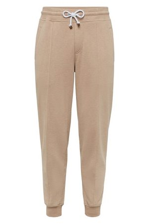 Brunello Cucinelli Men Sweatpants - French terry trousers