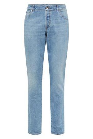 Brunello Cucinelli Slim fit five-pocket trousers