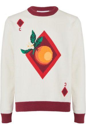 Casablanca Orange Card sweatshirt