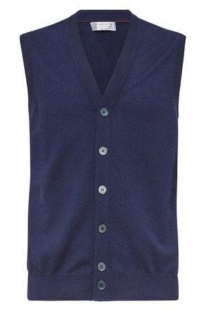 Brunello Cucinelli Cashmere Lithe yarn vest