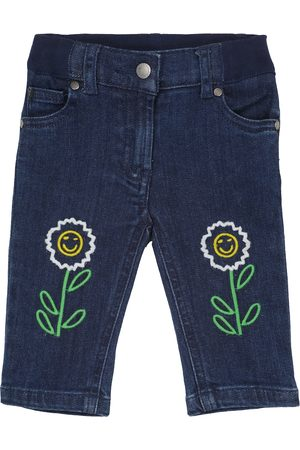 Stella McCartney Baby embroidered jeans