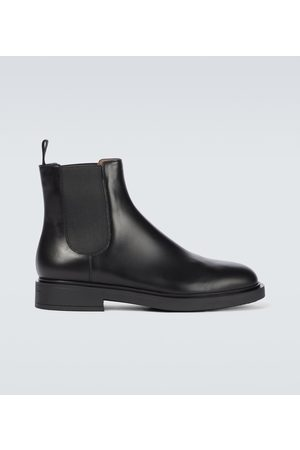 Gianvito Rossi Alain leather Chelsea boots