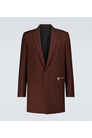 Jil Sander Wool serge tailored jacket