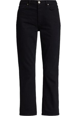 Goldsign Morgan Cropped Straight-Leg Jeans