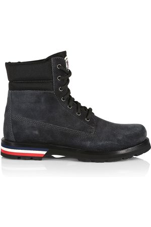 Moncler Vancouver Suede Ankle Boots