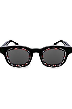 THIERRY LASRY X Paris Saint-Germain Crystals 49MM Square Sunglasses