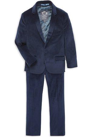 Appaman Little Boy's & Boy's 2-Piece Velvet Suit