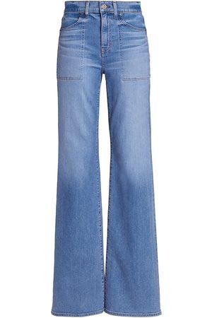 VERONICA BEARD Crosbie Wide-Leg Jeans