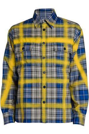 Marni Airbrushed Check Long-Sleeve Shirt