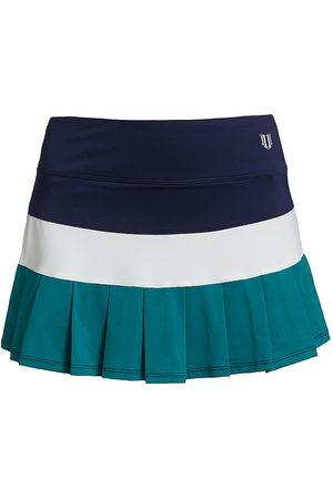 Venus Williams Retro Colorblock Flutter Skirt